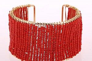 Fashion Icon Náramek drátěný s korálky 35a904ac2a