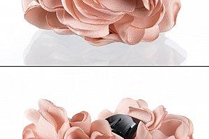 Fashion Icon Skřipec do vlasů kytka textilní růže  f044562c05