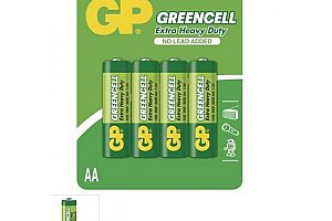 Baterie GP Greencell AA, AAA