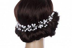 43c15a4240a Fashion Icon Čelenka do vlasů - květinový věneček drobné svítící ...