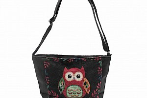 Fashion Icon Kabelka Big Owl sovičky shopper mini