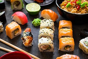 Running Sushi VIVO! Hostivař - All You Can Eat včetně grilování