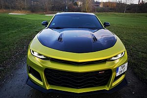 Jízda v supersportu Chevrolet Camaro 2018 coupé