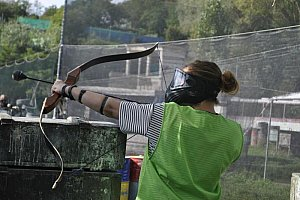 Archery- paintball s lukem